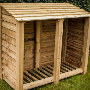 Buy large log stores online from Berkshire Log Stores