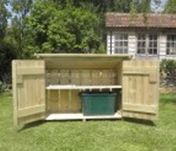 Recycling Box Store by Berkshire Log Stores
