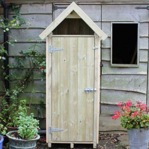 Sentry Box Garden Store by Berkshire Log Stores